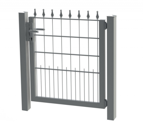 Decorative fencing swing gates
