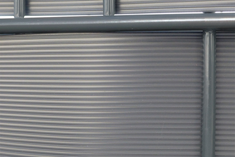 Privacy fence strips - corrugated design